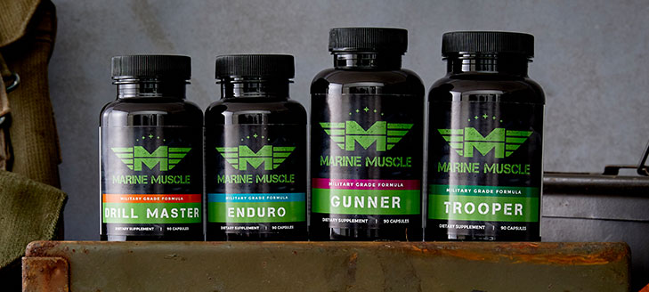 marine muscle bulking stack